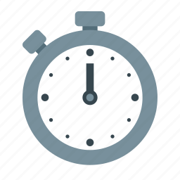 clock, finish, start, stopwatch, time, timer, watch icon