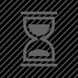 clock, organizer, reminder, sandclock, schedule, time icon
