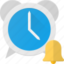 alarm, clock, sound, time icon