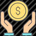 money, take, banking, deposit, finance, loan, salary