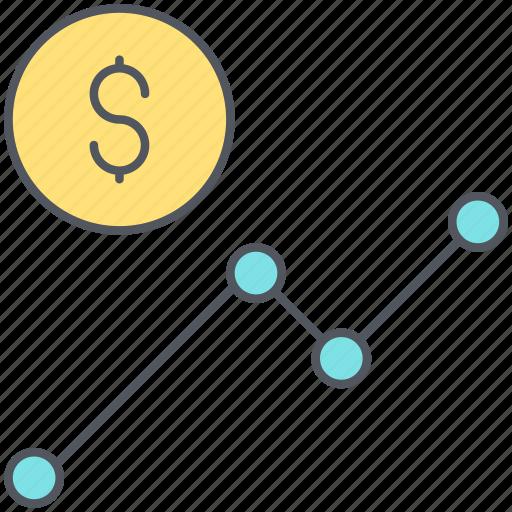 analytics, banking, business, chart, financial, statistics, stats icon