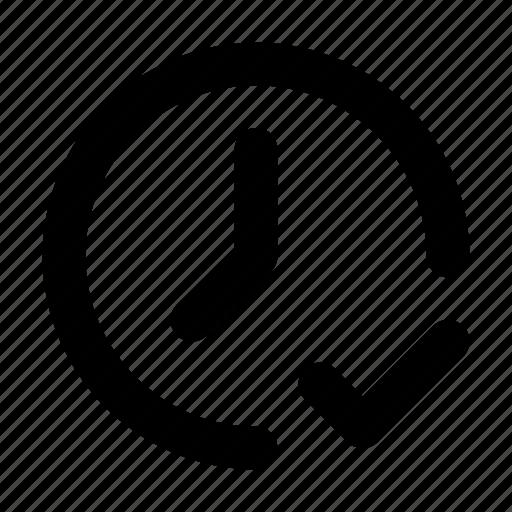 checklist, date, event, time icon