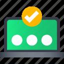 checklist, management, password, plan, stopwatch, time icon