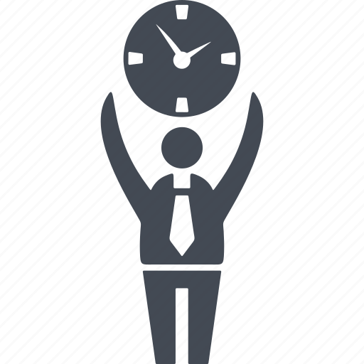 efficiency, people, plan, success, time, time management, watch icon
