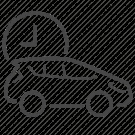 business, management, time, transportation icon