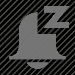alarm, alert, bell, sleep, snooze icon