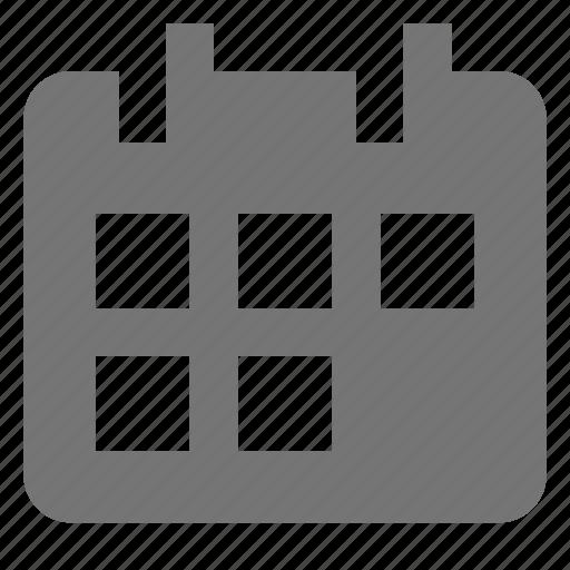 box, calendar, event, month icon