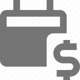 calendar, dollar, money icon