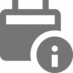 calendar, information icon