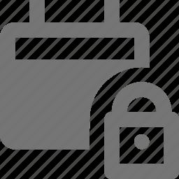 calendar, lock, security icon