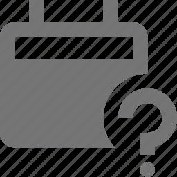 calendar, help, question icon