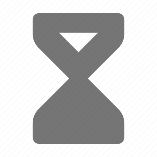 hourglass, timer icon