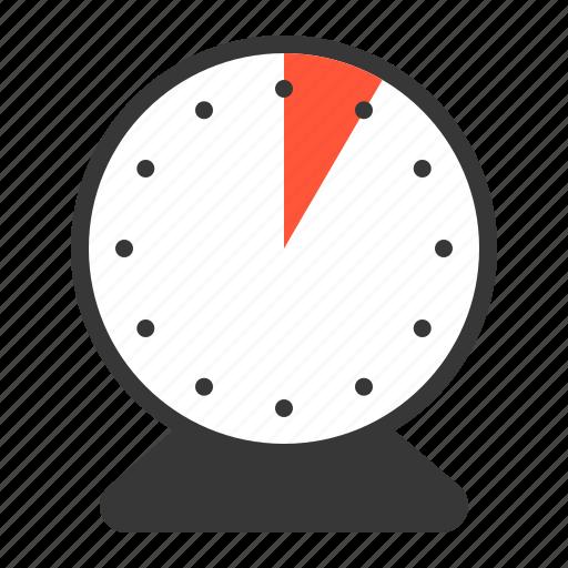 5 min clock five minute timer icon
