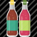 chilli sauce, hot sauce, pizza ingredients, sauces bottles, soya sauce