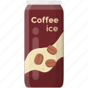 beverage, can drink, canned food, coffee can, ice coffee, instant coffee icon