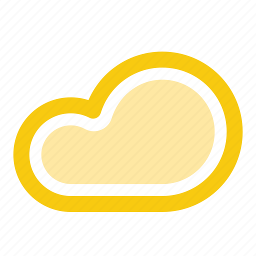 chance of rain, cloud, cloudy, forecast, precipitation, weather icon