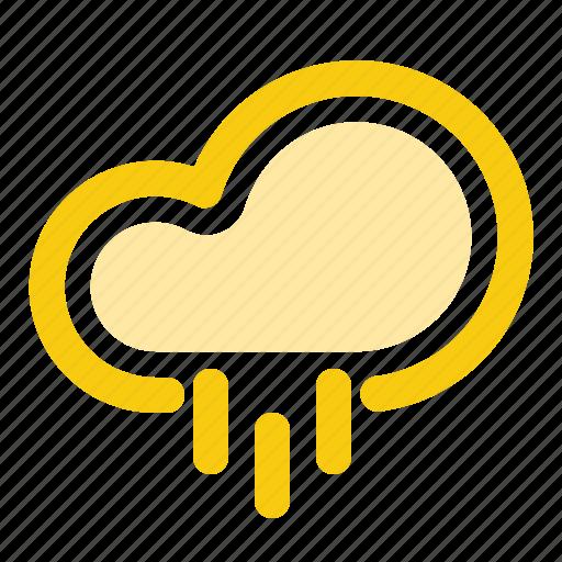 cloud, forecast, precipitation, rain, raining, rainy, weather icon