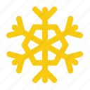 cold, forecast, precipitation, snow, snowflake, weather, winter icon