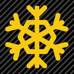 cold, forecast, precipitation, snow, snowflake, weather, winter icon