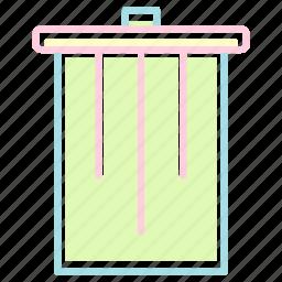 bathroom, home, house, throw, toilet, trash icon