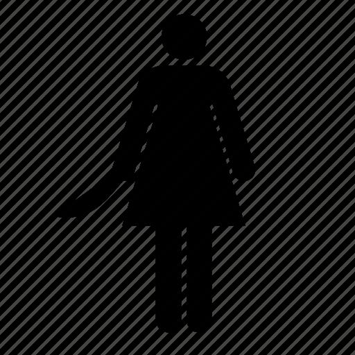 Female Bathroom Symbol Kill Stab Icon Download On Iconfinder