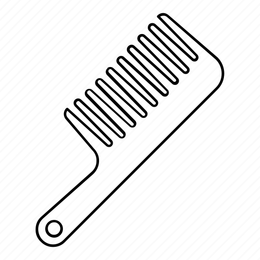 brush, comb, groom, hair, hairbrush icon