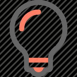 bulb, idea, lamp, light, tool, tools icon