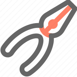 equipment, pliers, repair, tool, tools, work icon