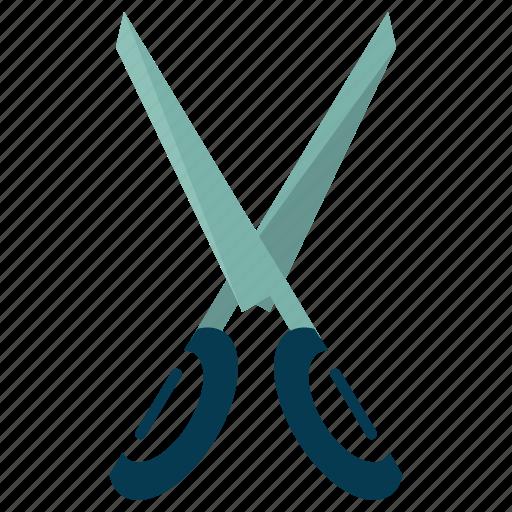 cut, design, graphic, scissor, toolbar icon