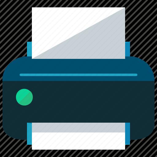 device, print, printer, printing, toolbar icon