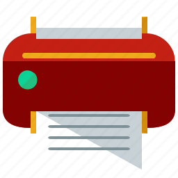 device, print, printer, printing, toolbar icon