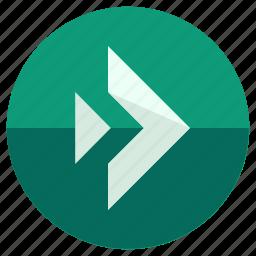 arrow, forward, pointer, reply, right, toolbar icon