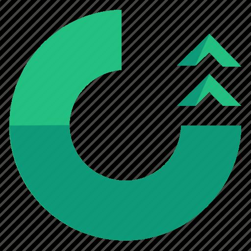 arrow, bar, left, rotate, tool, toolbar icon