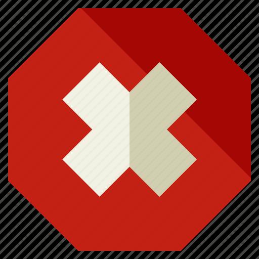 bar, cancel, stop, tool, toolbar, warning icon