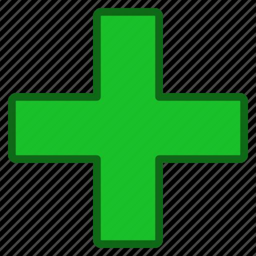 add, create, hospital, medical, medicine, new, plus icon