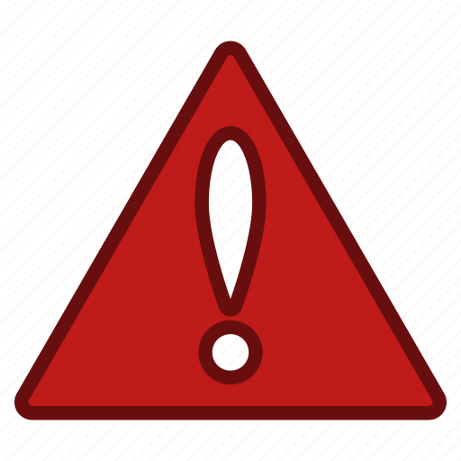 alarm, alert, danger, error, exclamation, problem, warning icon