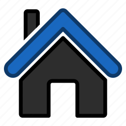building, construction, home, house, office, property, real estate icon
