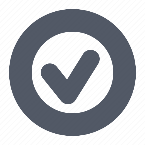 accept, button, check, confirm, verify icon