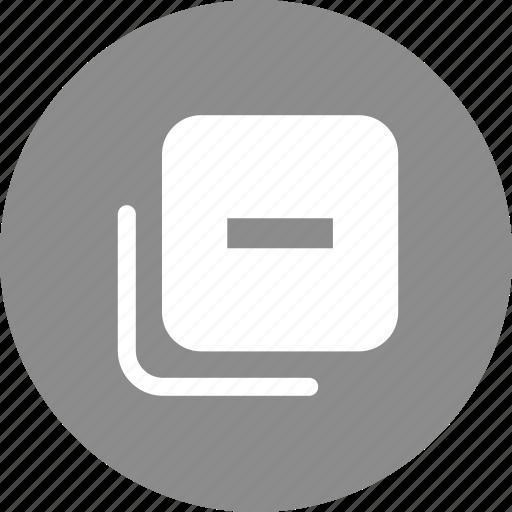 label, layer, remove label, remove layer icon