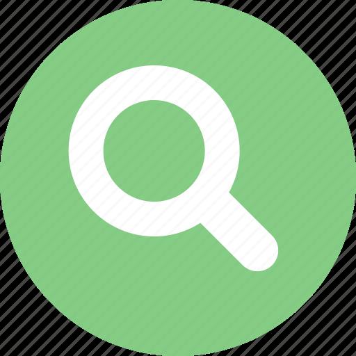 find, search, seek, zoom icon