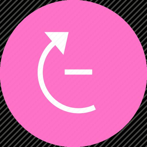 arrow, rotate, rotation, up icon
