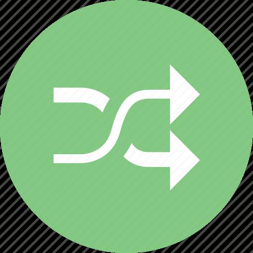 play, random, randomize, sort icon