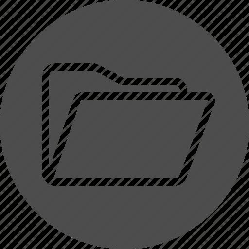 document, documents, file, folder, open icon