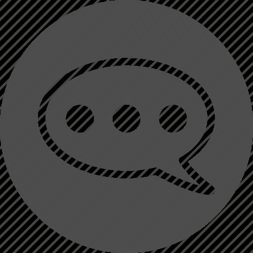 bubble, chat, comment, forum, hint, message, messages, messenger, social, speech, talk, talking, voice icon