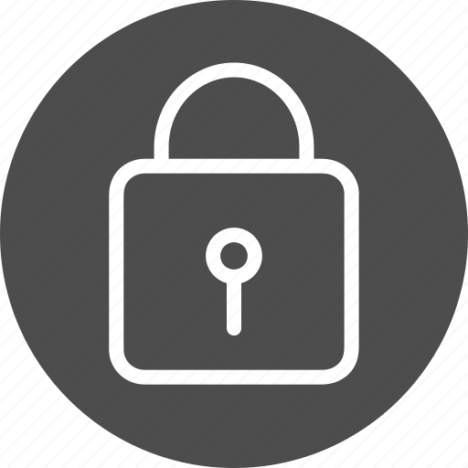 closed, guard, key, keyhole, lock, locked, login, password, privacy, private, protect, protection, safe, safety, security icon