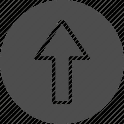 arrow, move, up, upload icon