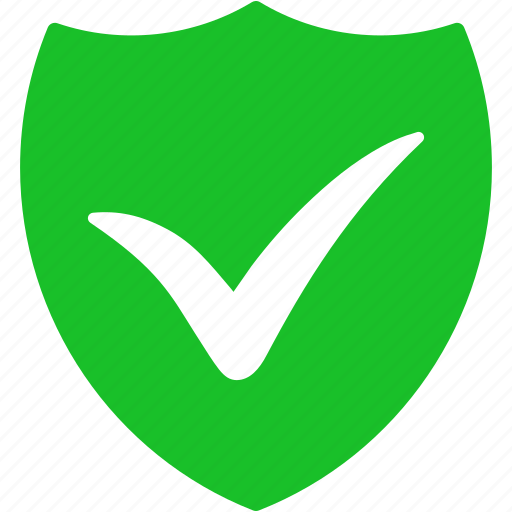 antivirus, guard, protect, protection, safety, security, shield ok icon