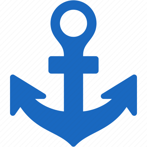 anchor, boat, chain, link, marine, nautical, navigation, port, sailing, sea, seaport, seo, ship, vessel, water icon