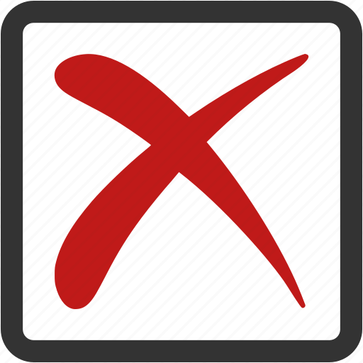 back, basket, block, cancel, clean, clear, close, cross, decline, delete, erase, eraser, error, exit, lock, no, recycle, reject, remove, stop, trash, undo, vote, warning icon
