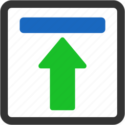 arrow, arrows, bar, collapse, connection, download, exchange, interface, refresh, reload, renew, repeat, rotate, sync, toolbar, ui, update, upload icon